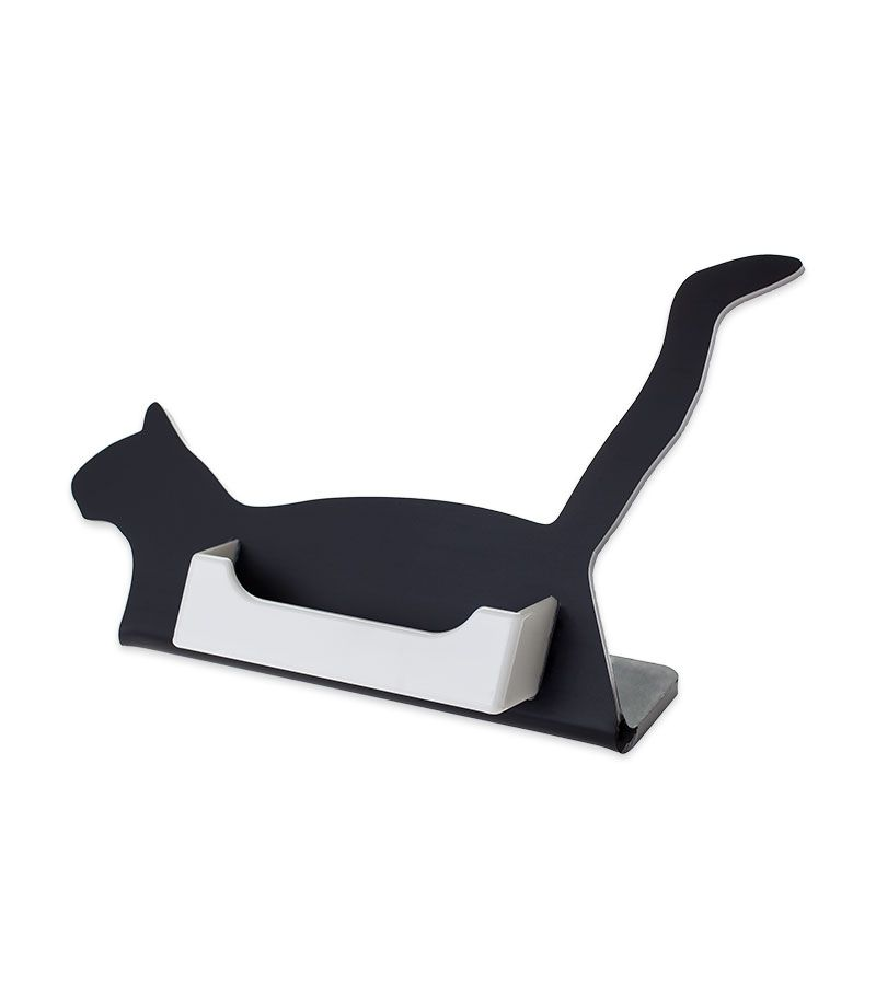 Cat single pocket business card holder | Cat Office Stuff ...