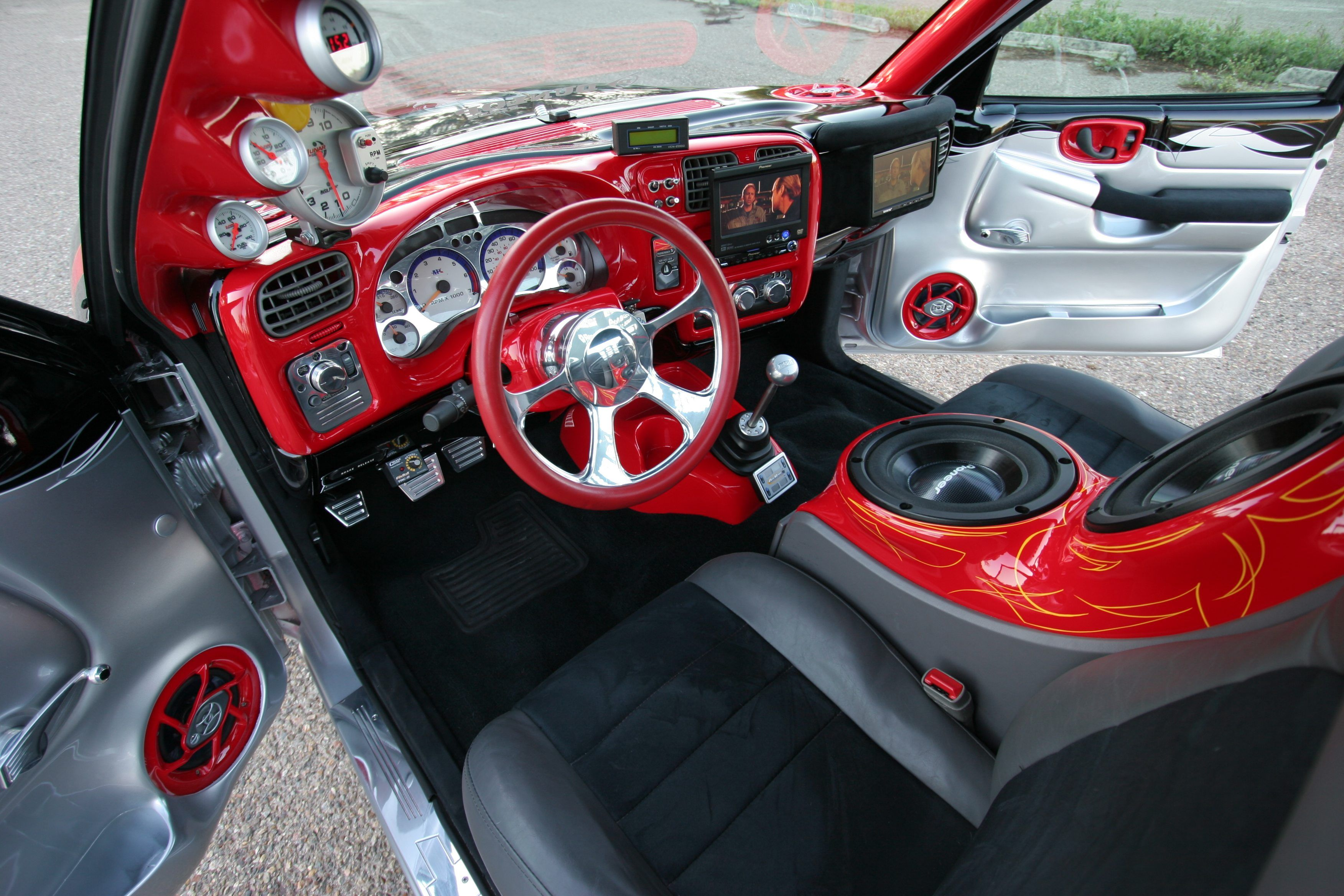 volkswagen custom beetle interior car modified chevy classic hit belair madwhips