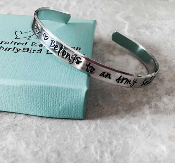 SALE Proud Army Sister custom bracelet army mom navy mom sister brother wife girlfriend military deployment marine corps Air Force
