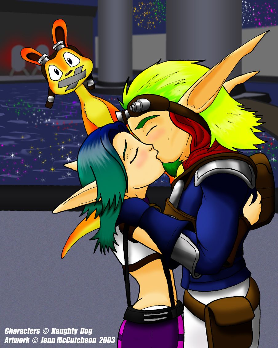 keira kiss Jak and daxter