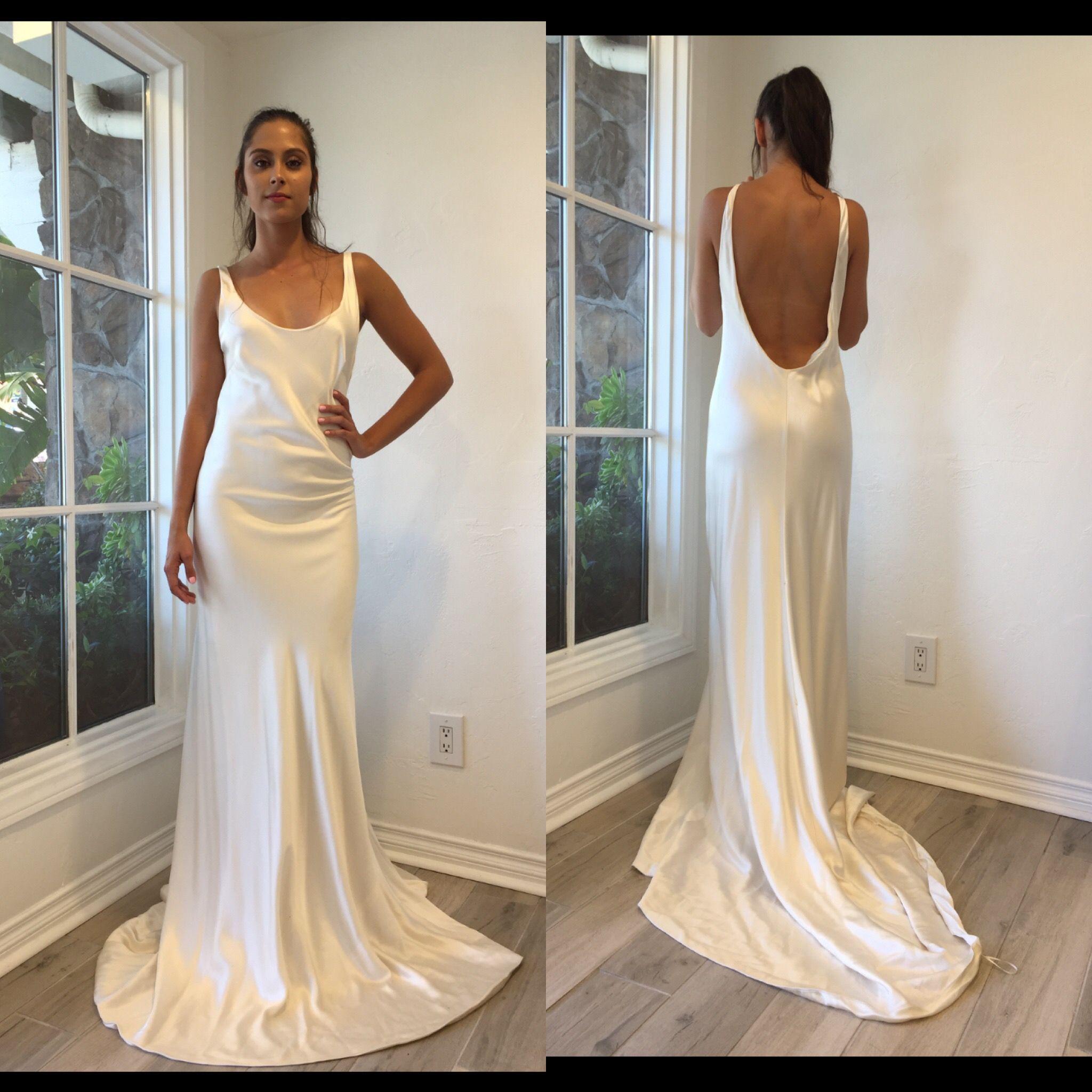 Honey Silk Gown Silk Wedding Dress Grace Loves Lace Wedding Dresses Lace Wedding Dresses Silk Wedding Dress [ 2048 x 1365 Pixel ]