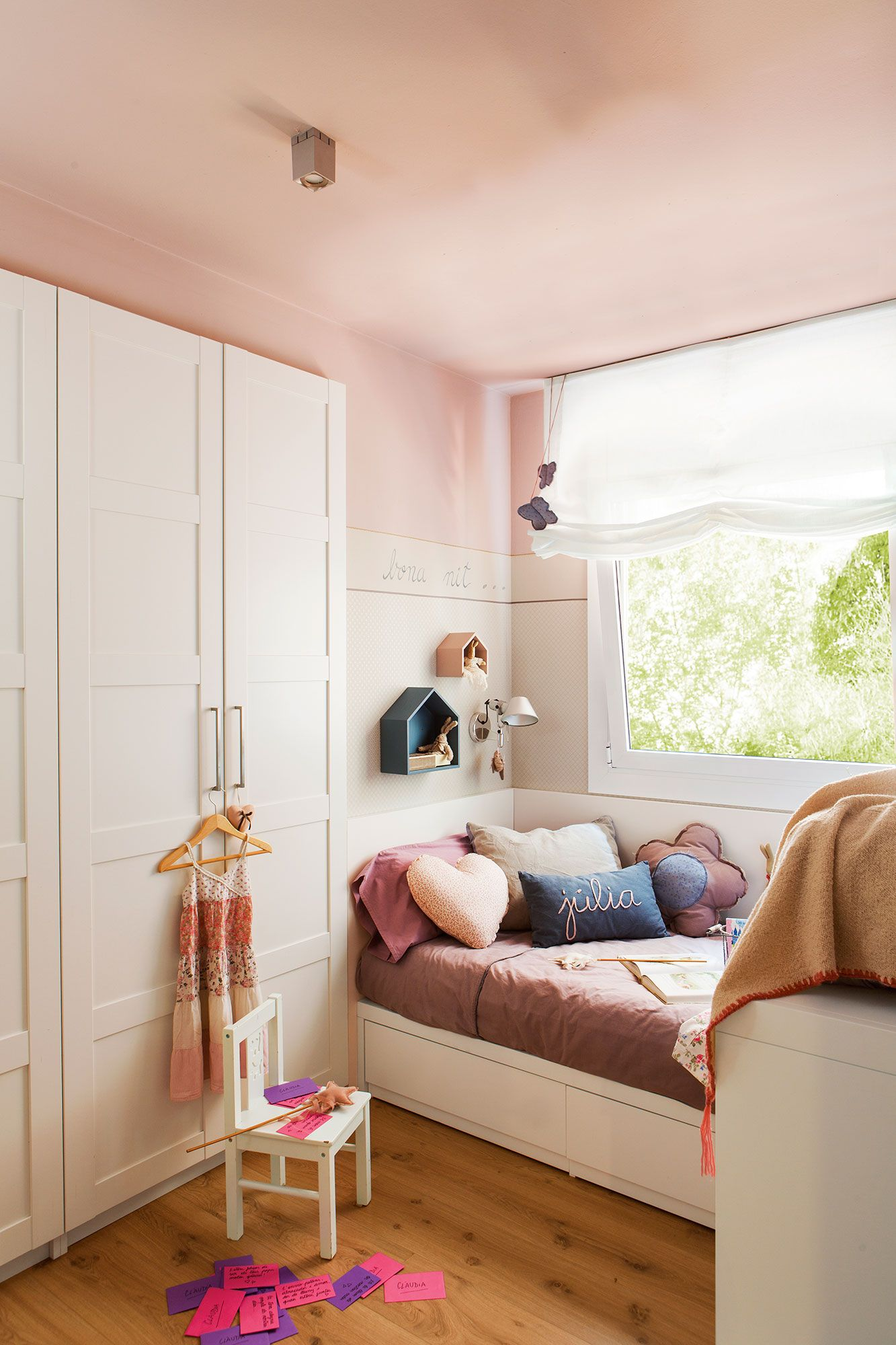 Electrodom sticos mini habitaci n ni a cortinas for Cortinas habitacion bebe