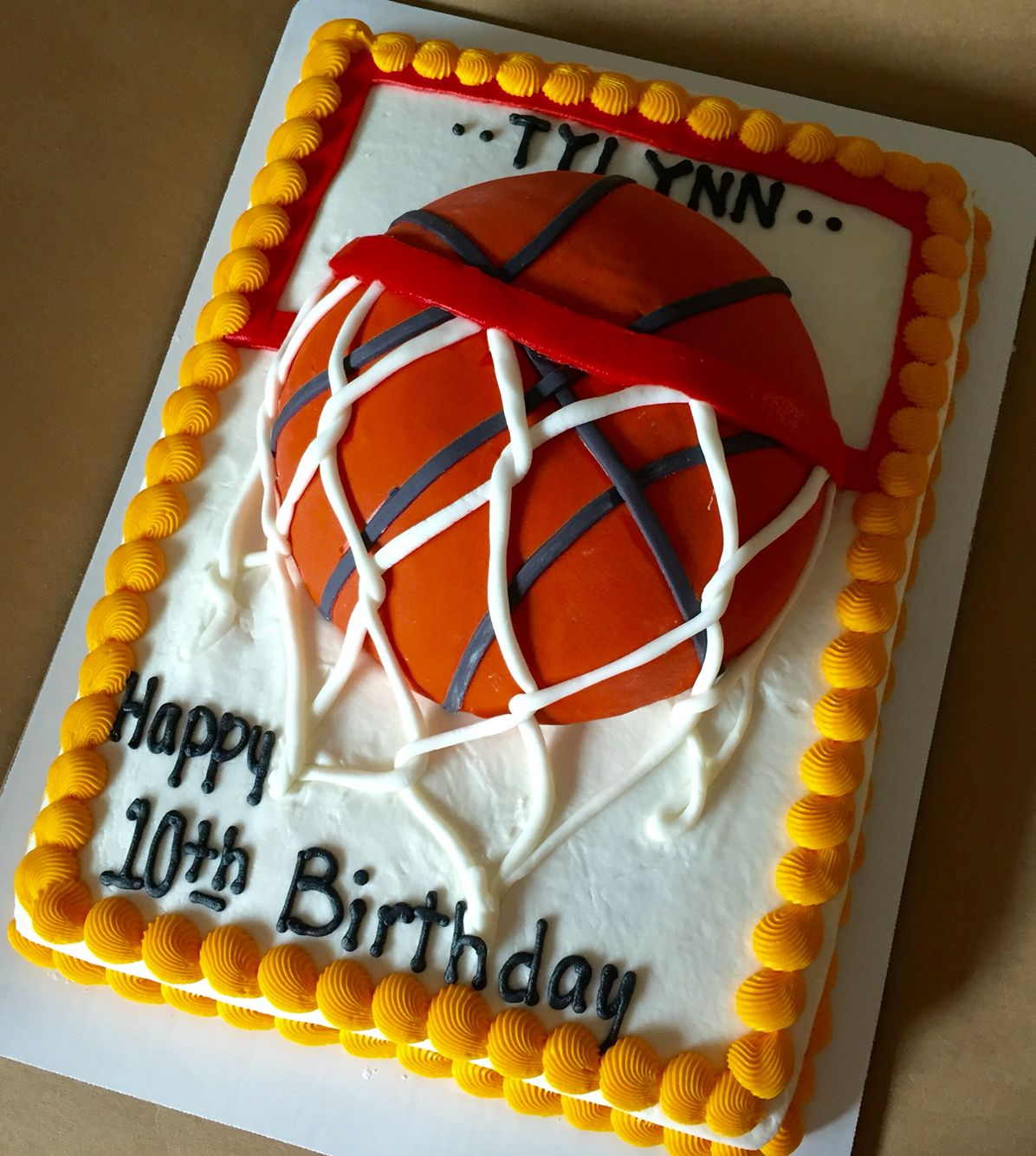 Basketball Sheet Cake Basketball Cake Sheet Cake Birthday