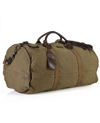 Polo Ralph Lauren Bag, Canvas Bedford Duffle Bag - Bags ...