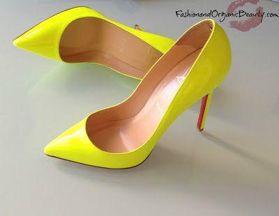 b53a9245365f Christian Louboutin Pigalle Neon Yellow 120 pump.. Yo leila.. thats my next  bday gift