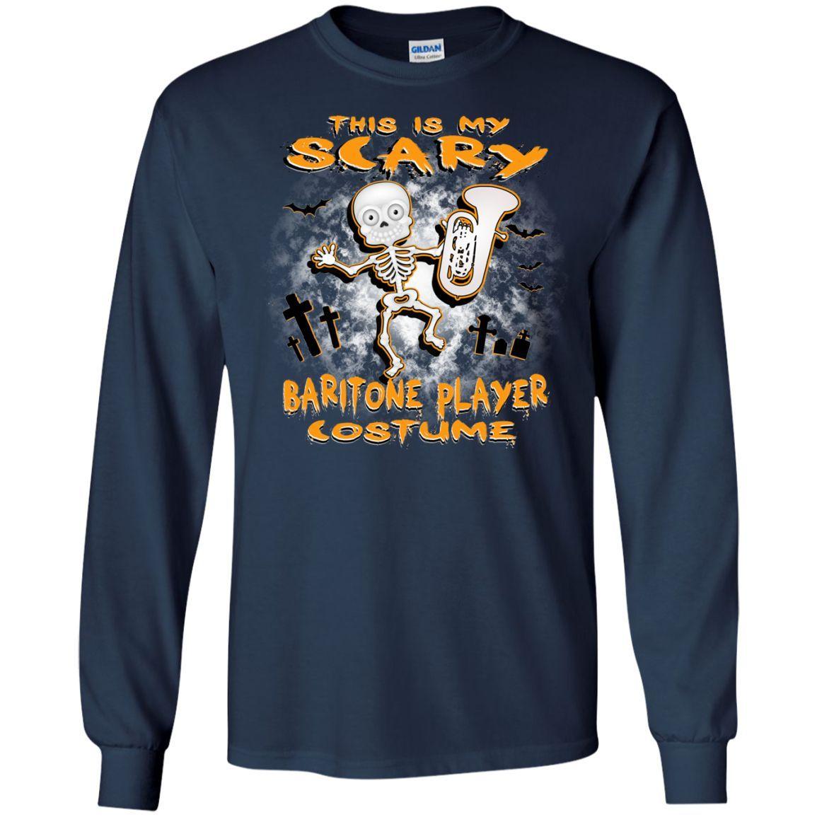 Scary Baritone Costume Long Sleeve/Sweatshirt