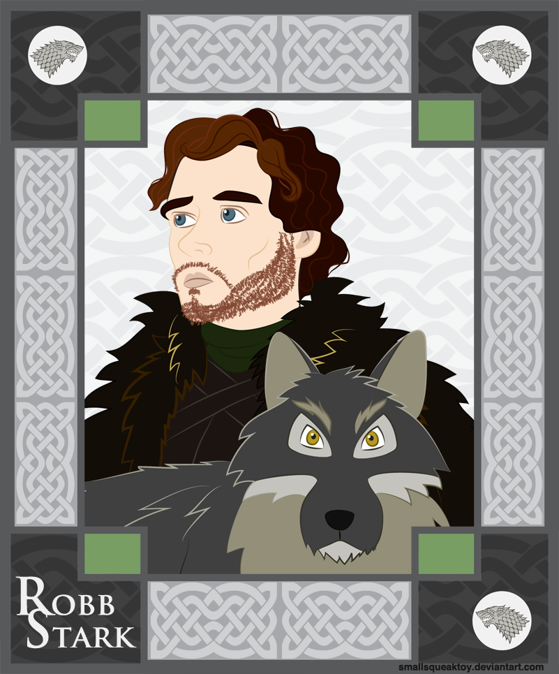 Robb Stark By Smallsqueaktoy
