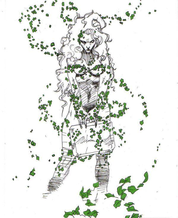 Poison ivy vine tattoo designs rabbit design by poison for Poison ivy vine tattoos