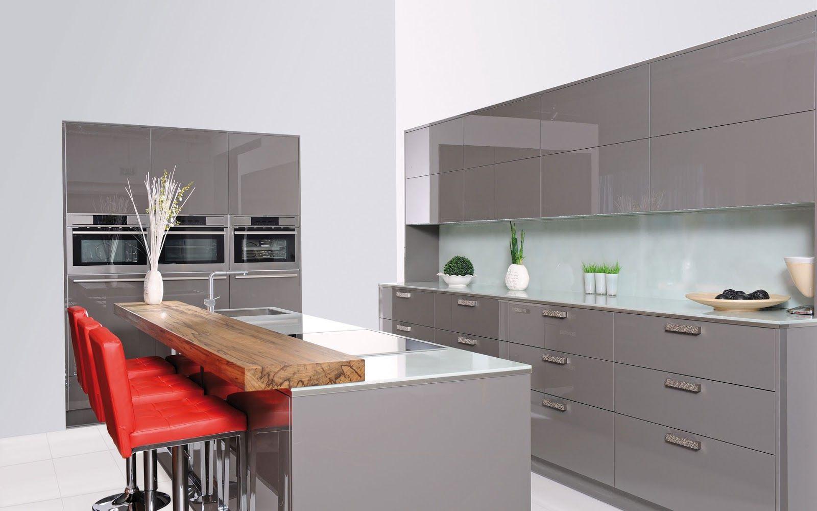 Cocinas con estilo: 30 ideas de mesas y barras para comer en la ...