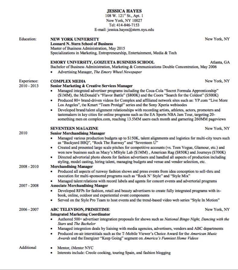 media publishing resume sample http exampleresumecv org