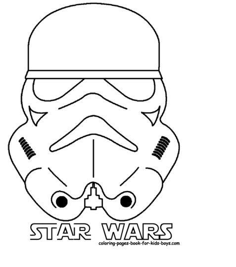 Malvorlage star wars - Google-Suche Star wars masks