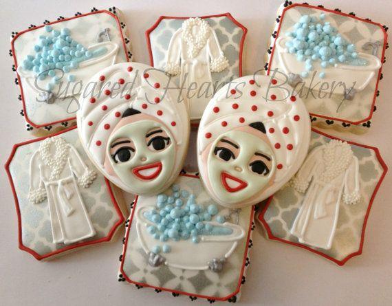 1 Dozen Spa Inspired Cookies