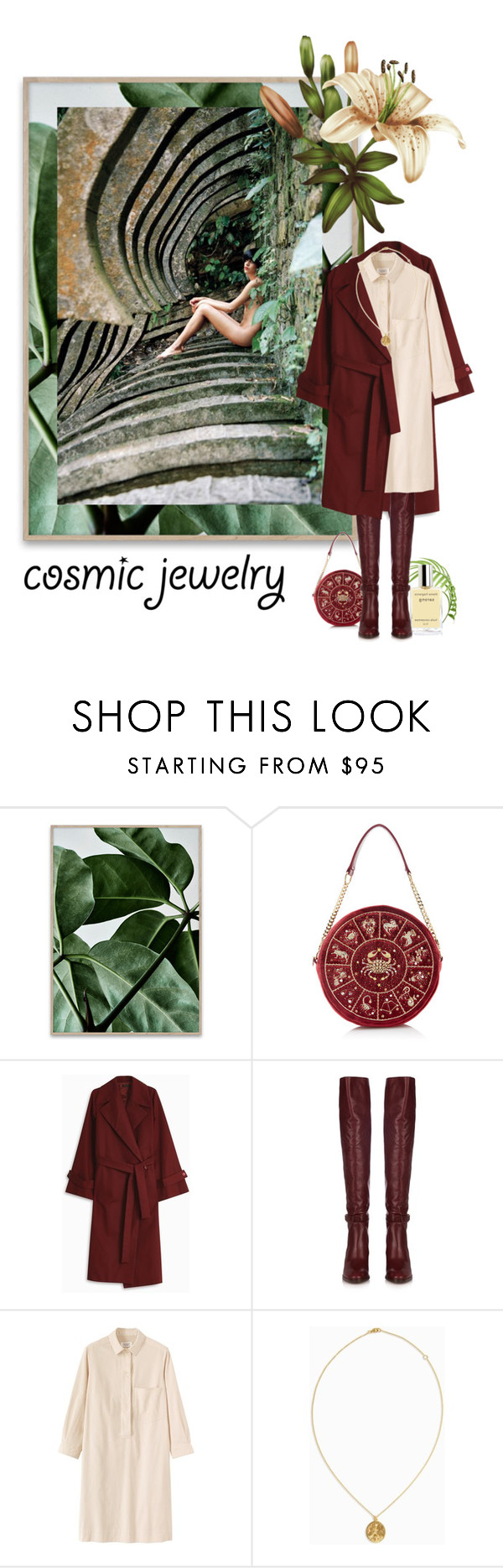 """""""Cancer is my sign"""" by izoche ❤ liked on Polyvore featuring The Row, Chloé, Toast, BROOKE GREGSON, contest, contestentry, ContestOnTheGo and cosmicjewelry"""