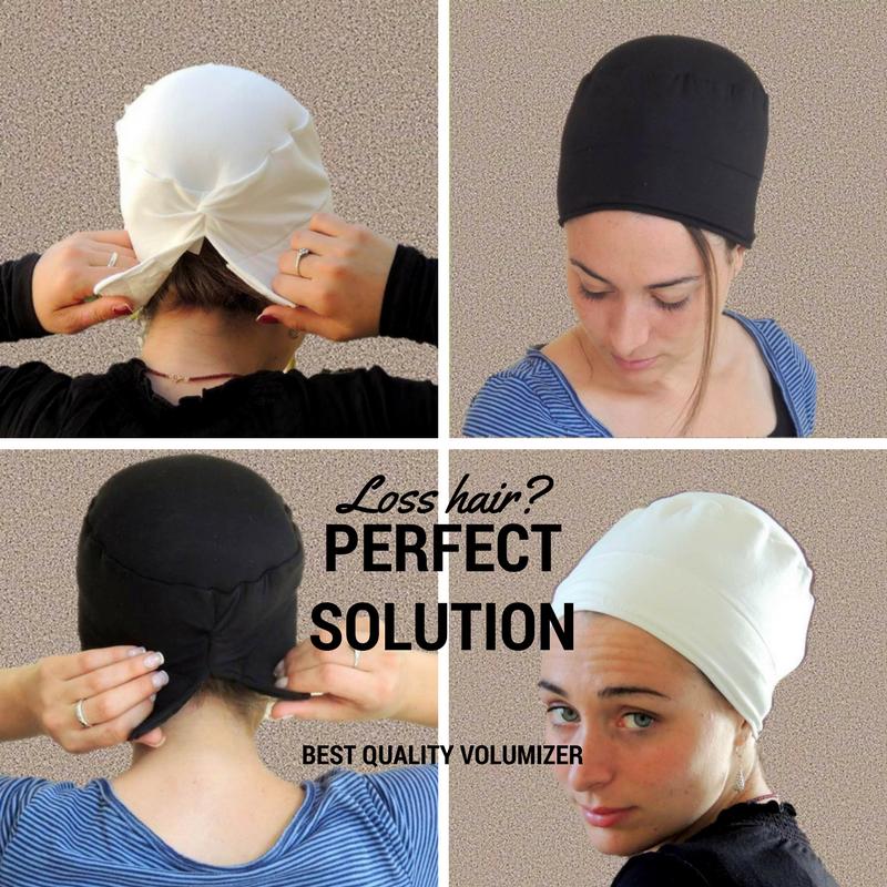 c2267939364 White Volumizer   Anti Slip Headband-NEW-All In One Hat-Great under ...
