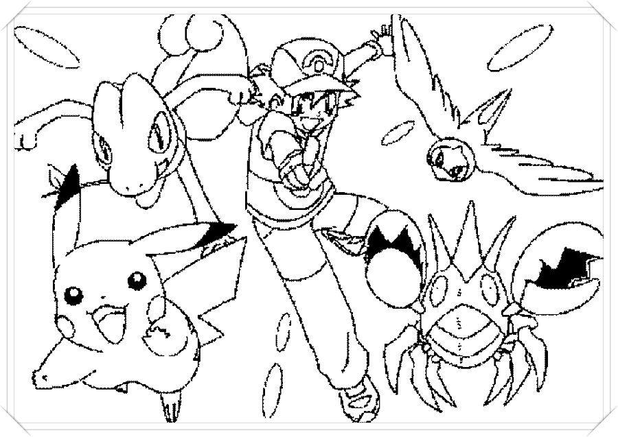 Los Mas Lindos Dibujos De Pokemon Para Colorear Y Pintar A Todo Color Imagenes Prontas Para Descargar Dibujos Para Colorear Pokemon Dibujos Todos Los Pokemon