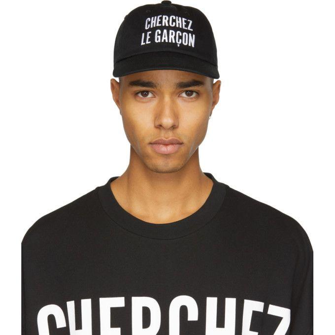 Black Orly Cherchez Le Garcon Cap 5kyqvl9au
