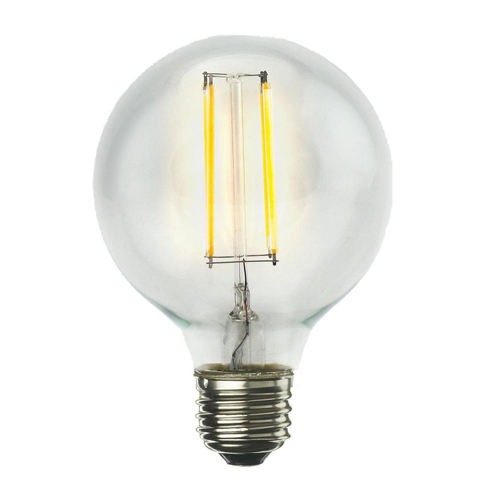 40w Equivalent Warm White Light G16 Dimmable Led Filament Light