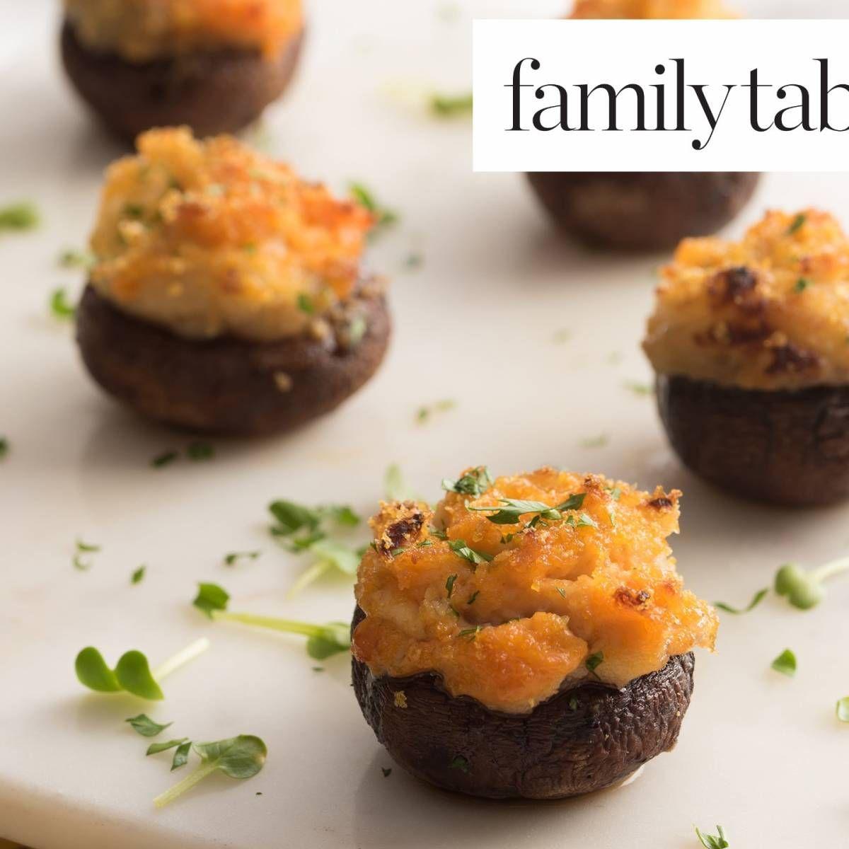 Parve Stuffed Mushrooms Recipe Recipes, Stuffed