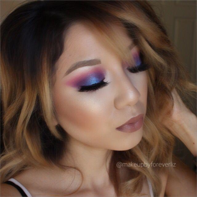 Cotton candy eyes #makeup #motd #makeupaddict #makeuplovers @makeupbyforeverliz
