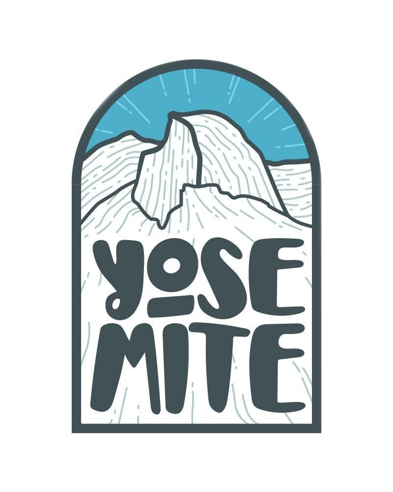 Image result for half dome logo Outdoor stickers