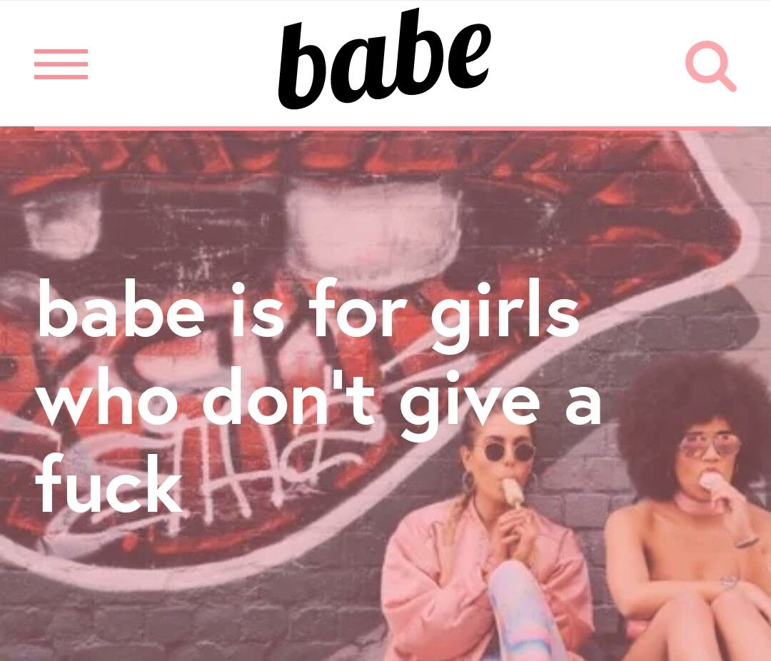 Are not babe goes down