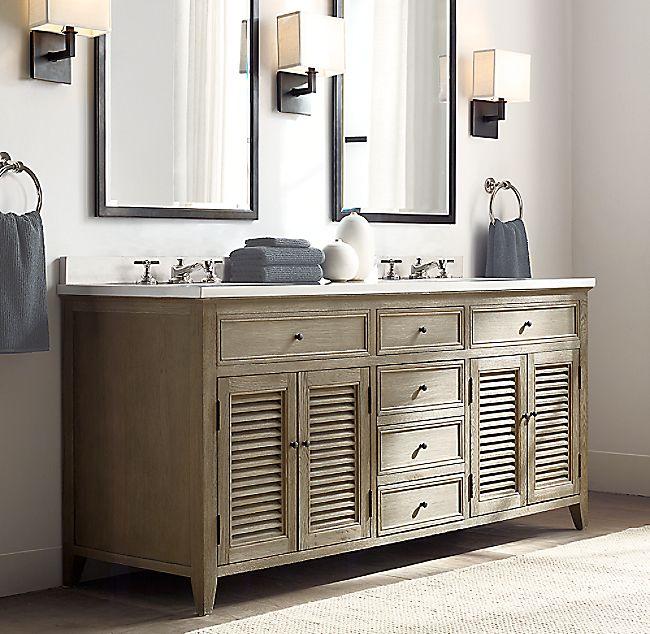 Double Vanity, Bathroom Interior