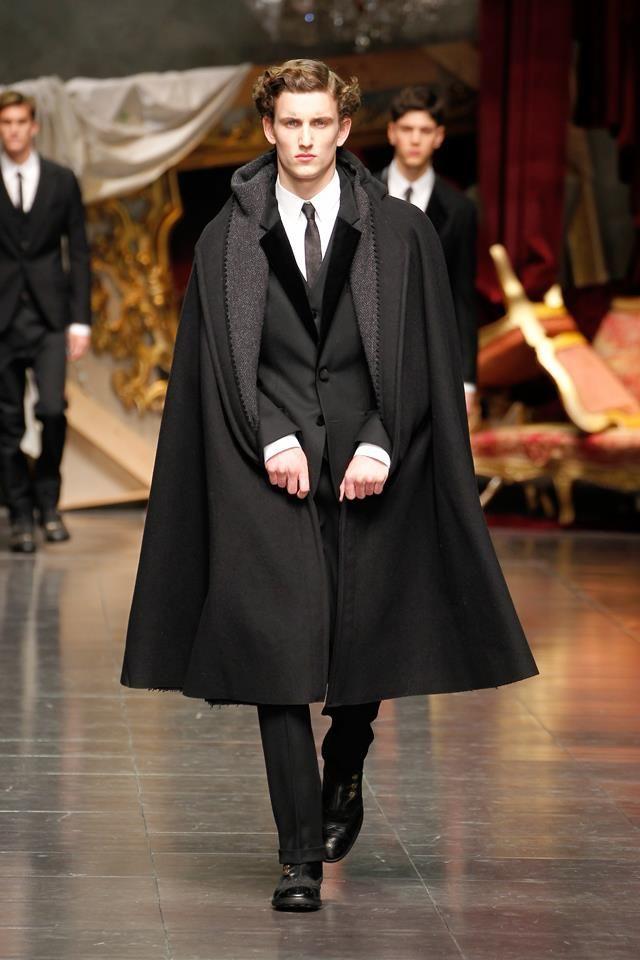 Dolce Gabbana Men Winter 2013 To Define Is To Limit Manteau Chic Mode Mode Classique