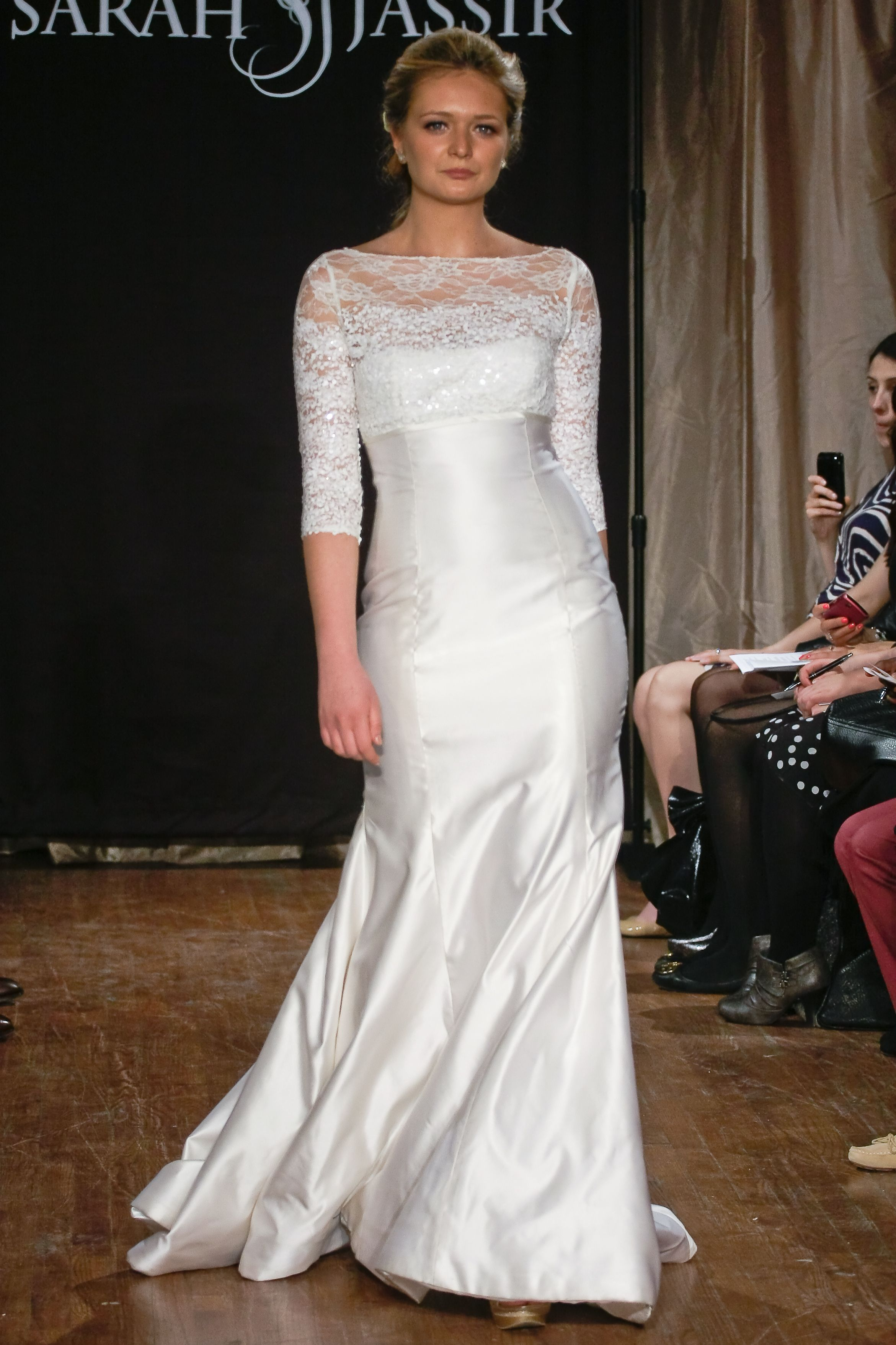 For the romantic and vintageinspired bride they recommend a long
