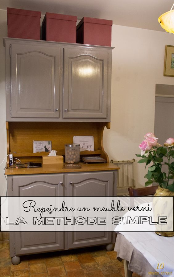 Peindre un meuble verni  la solution simple et rapide Decoration