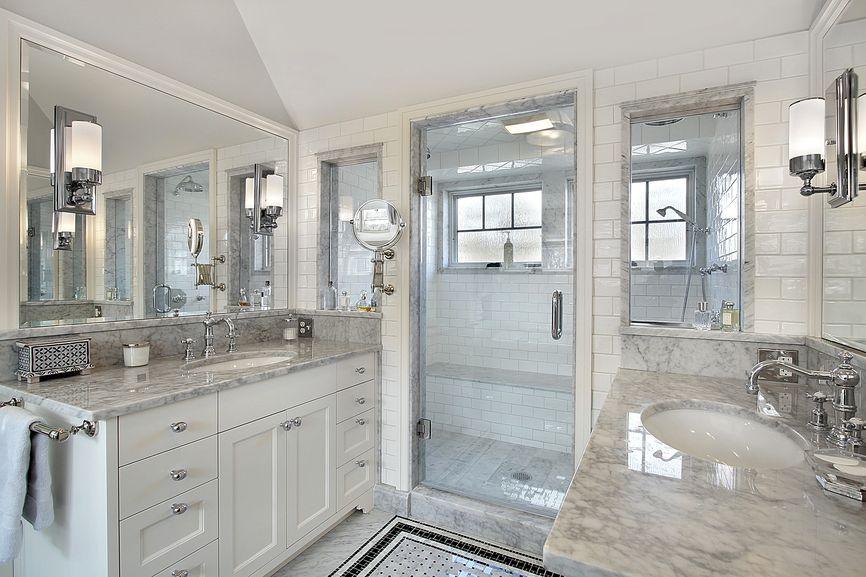 101 Custom Primary Bathroom Design Ideas Photos White Master