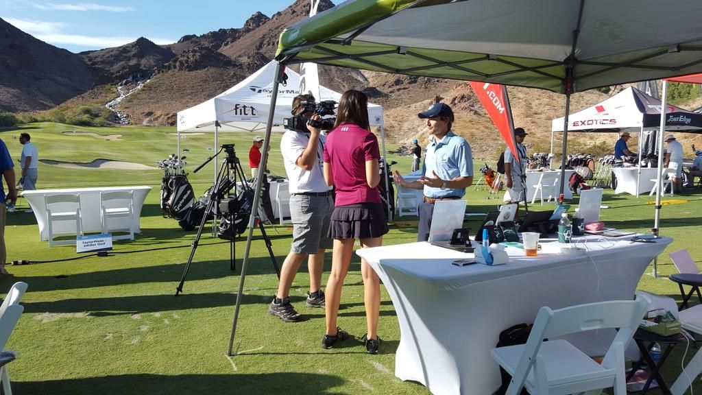 NBC Golf interview with Golfler App President.
