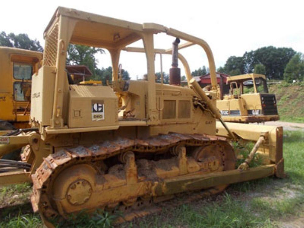 Caterpillar D6D Crawler Dozers for Sale :: Construction