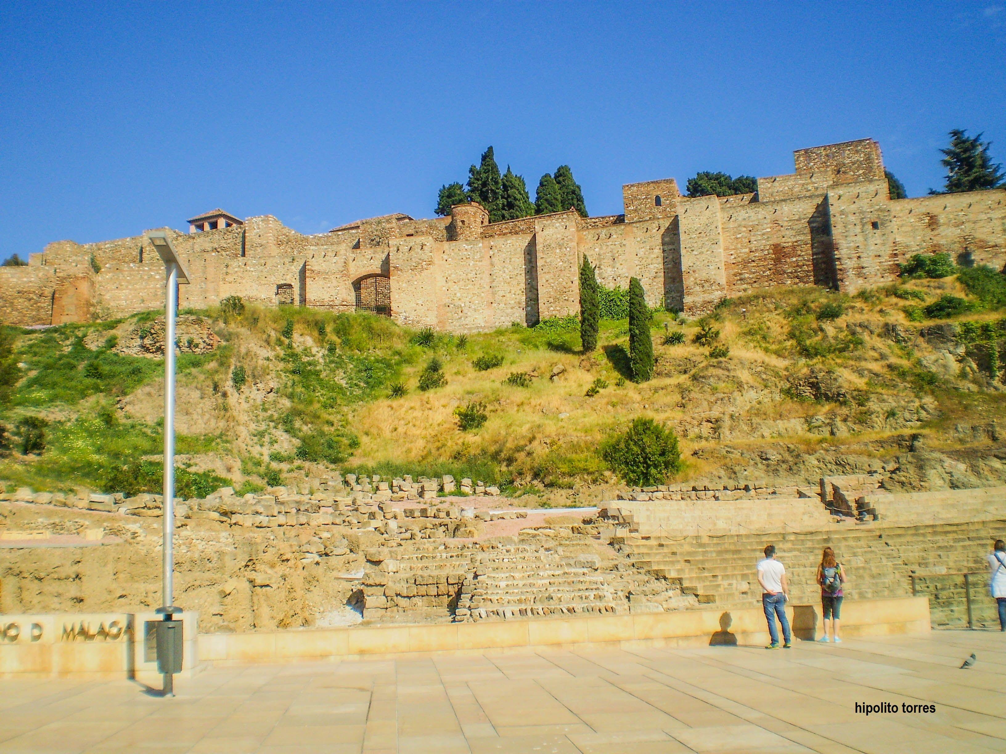 muralla de malaga - españa