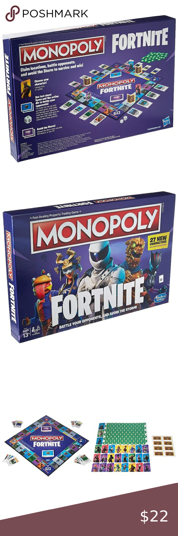 Fortnite monopoly in 2020 Fortnite, Monopoly, Puzzle game