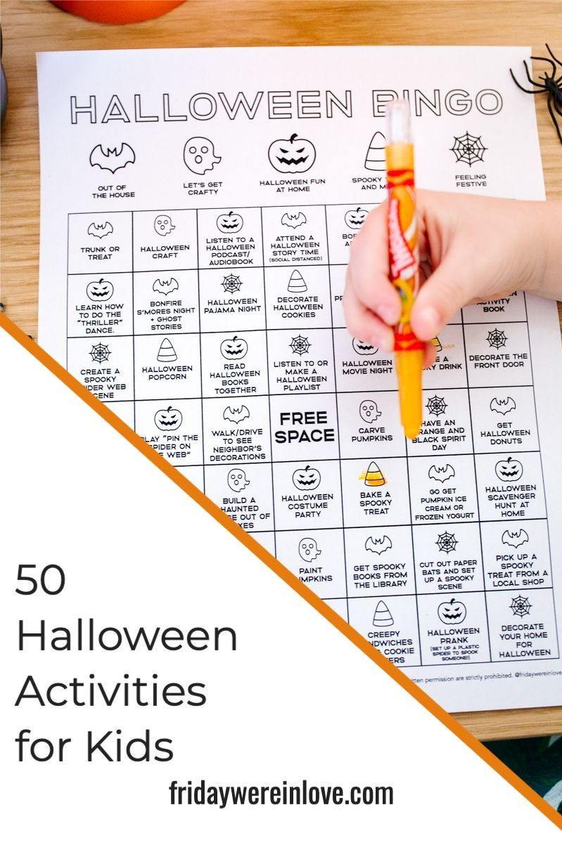Halloween Activities 50 Ways to Celebrate and Have a Fun