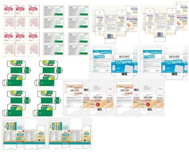 Miniature Printables - Medicines (Pg.3).