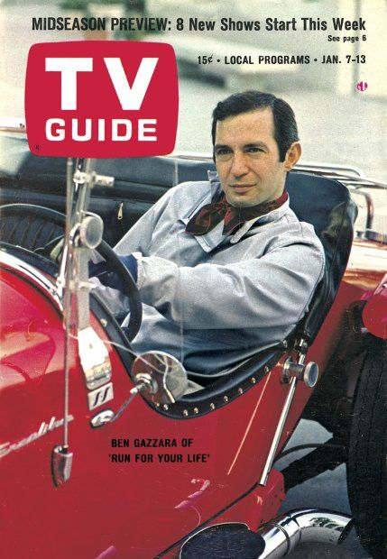 TV Guide January 7, 1967 (Ben Gazzara of Run For Your Life---a VERY excellent show)