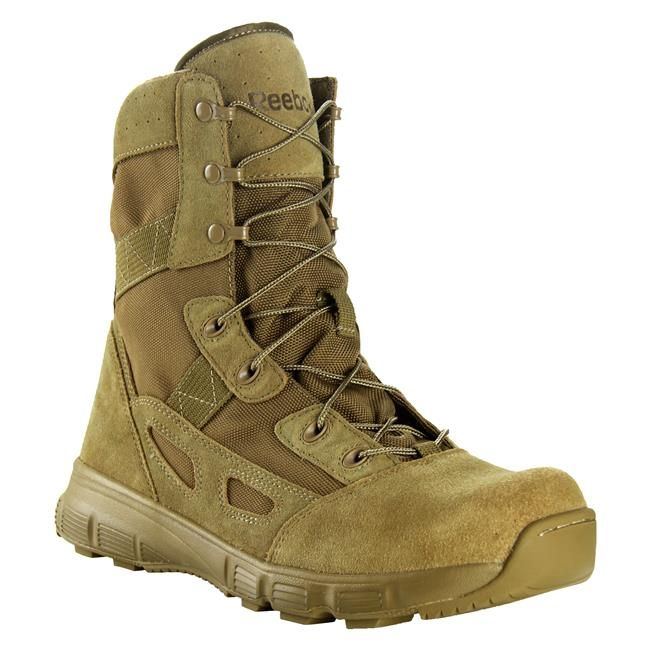 Men S Reebok 8 Hyper Velocity Boots Tactical Gear Superstore Tacticalgear Com Military Boots Boots Tactical Boots