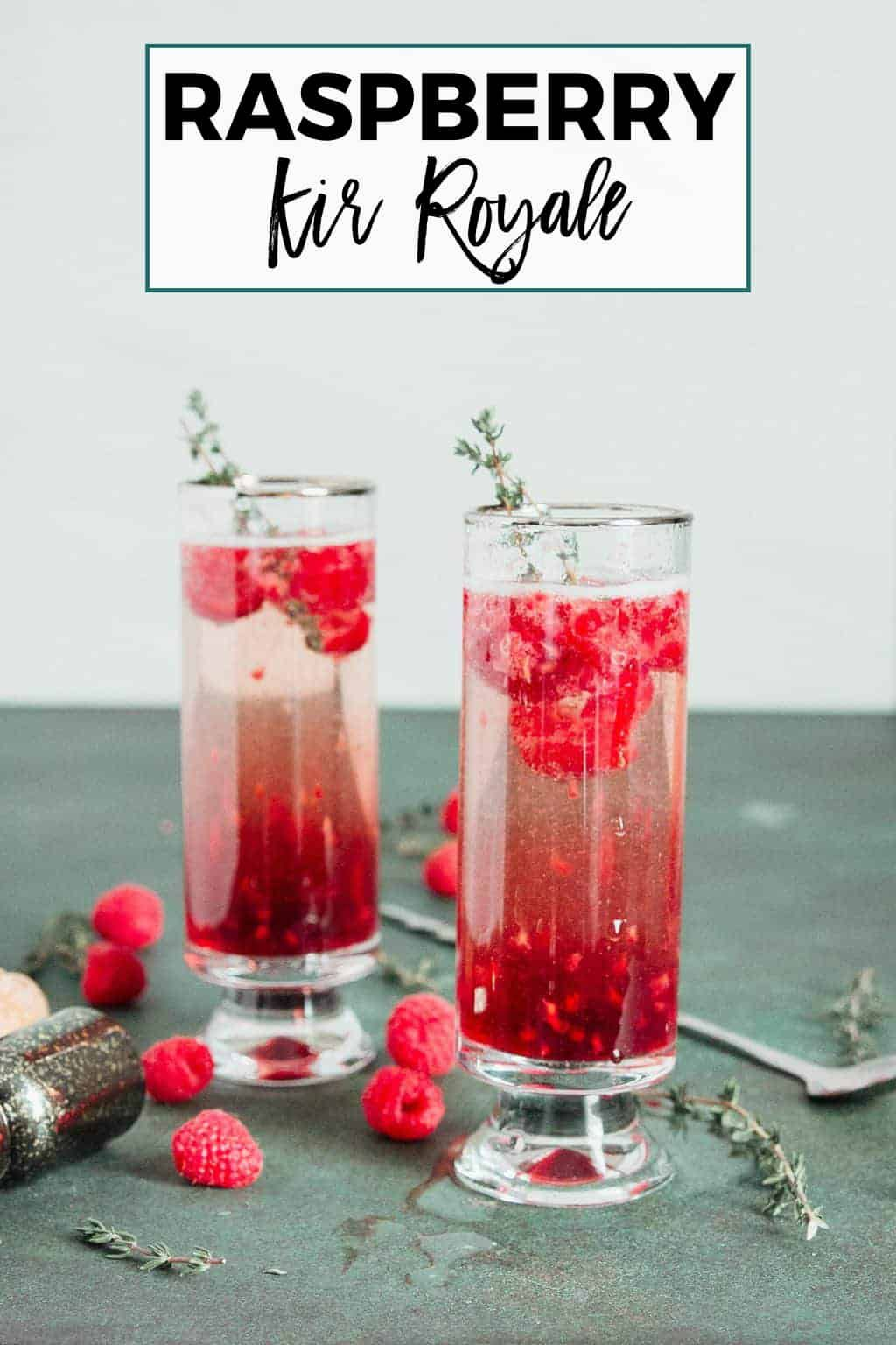 My Raspberry Kir Royale Is A Fun Riff On The Classic Kir Royale Just 3 Ingredients And You Have Easy Drink Recipes Best Cocktail Recipes Party Food And Drinks