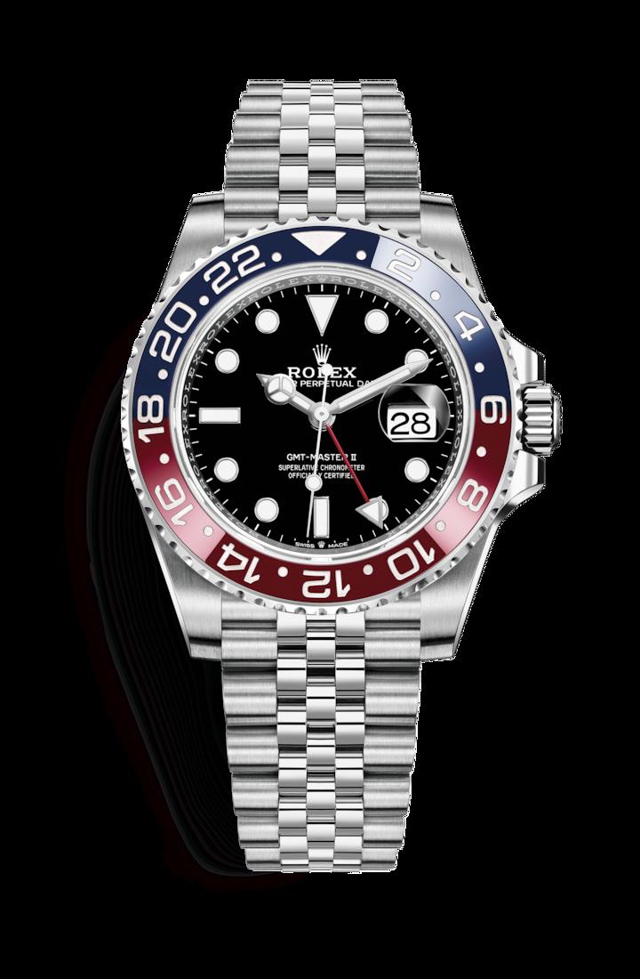 4d5e657e8e8 Rolex GMT-Master II  Oystersteel – 126710BLRO
