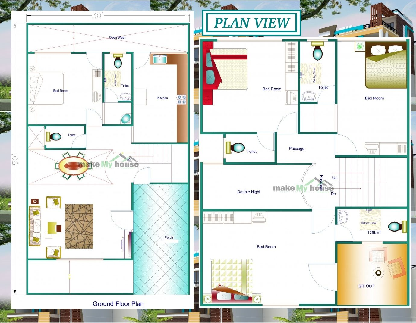 Plan View of # housedesign by MMH # homedesign ...