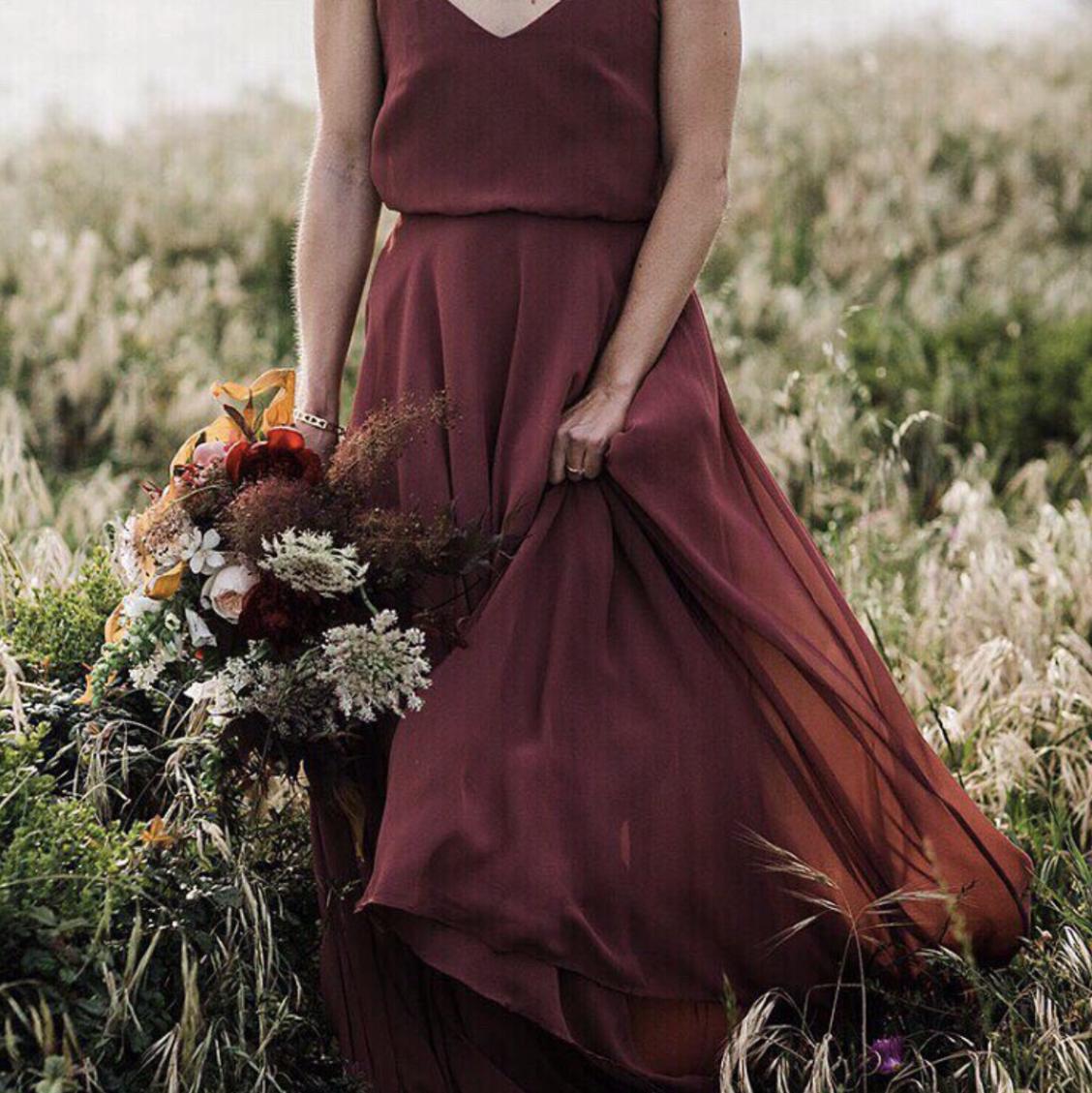Pinterest Fall Wedding Ideas: Inesse Dress From BHLDN