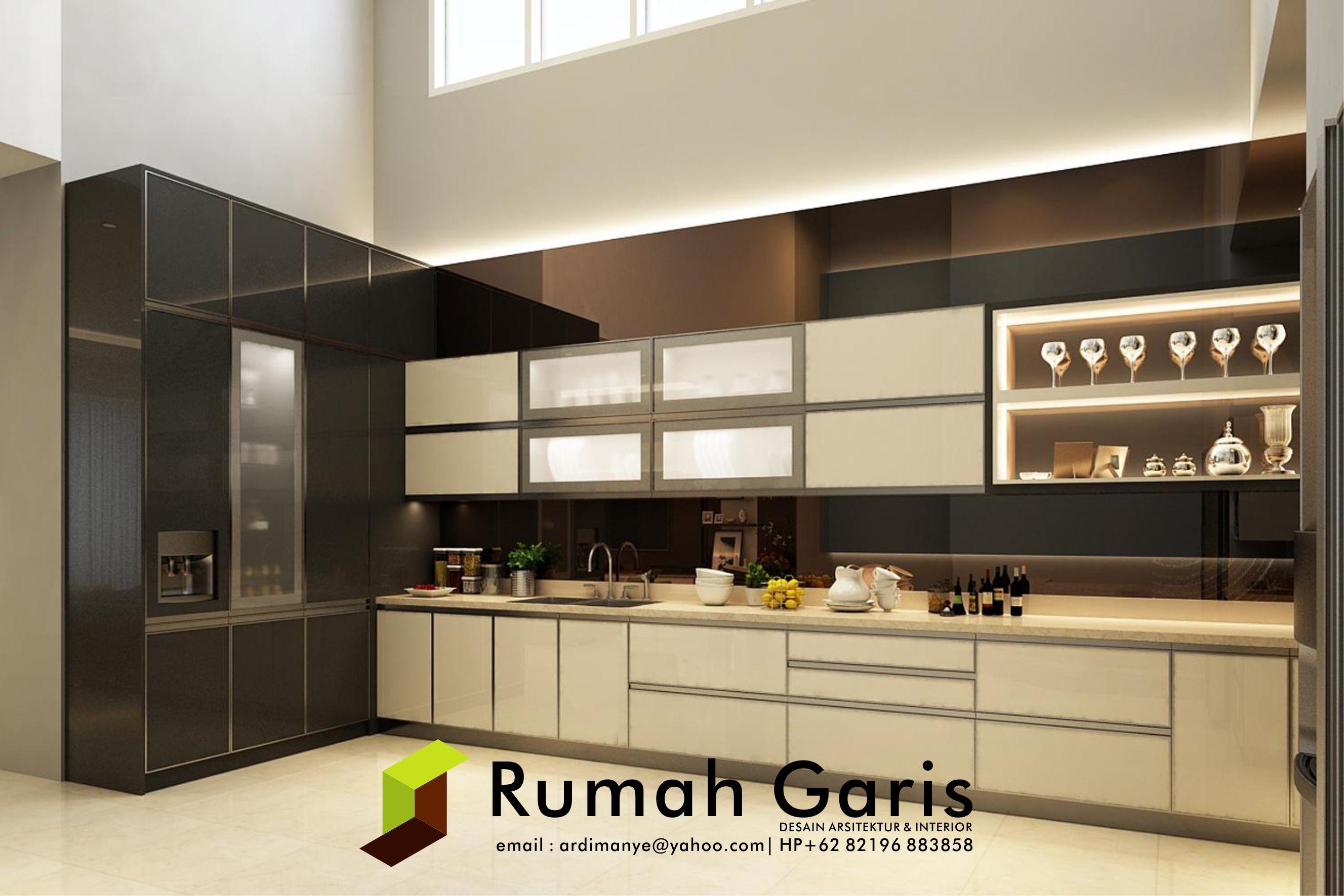 Desain Pantri Dapur Kitchen Set Jasarender Renderonline