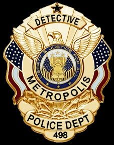 Detective Maggie Sawyer's badge   Badges   Security solutions