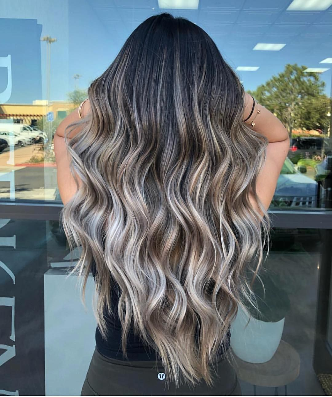 1 270 Likes 9 Comments Balayage Beautiful Hair Bestofbalayage On Instagram Fossil Fuel By Kimbe Balayage Hair Ash Blonde Balayage Balyage Long Hair