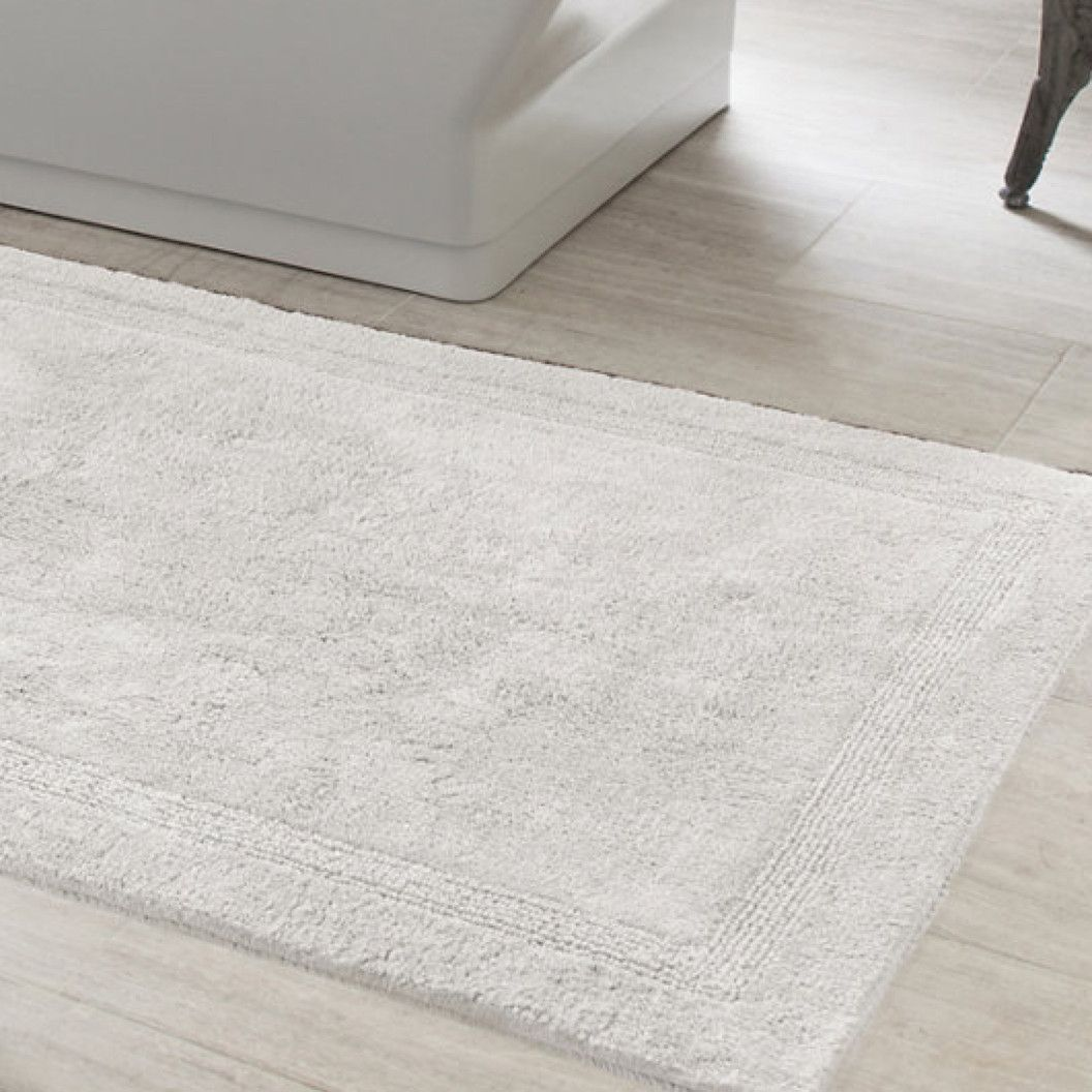 White Bath Rug Bath Rugs
