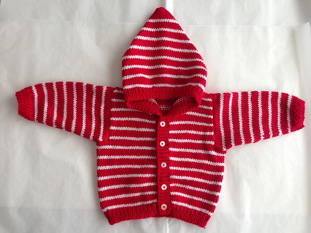Free On Ravelry Project Gallery For Babys Hoodie To Knit Pattern