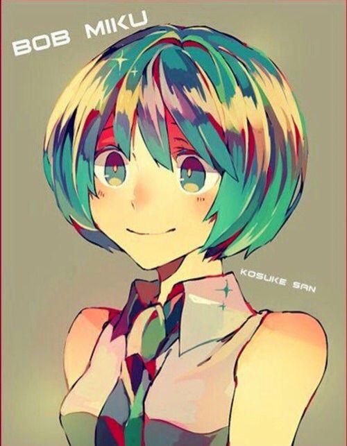 Hatsune Miku Short Haired Ver Hatsune Miku Miku Hatsune