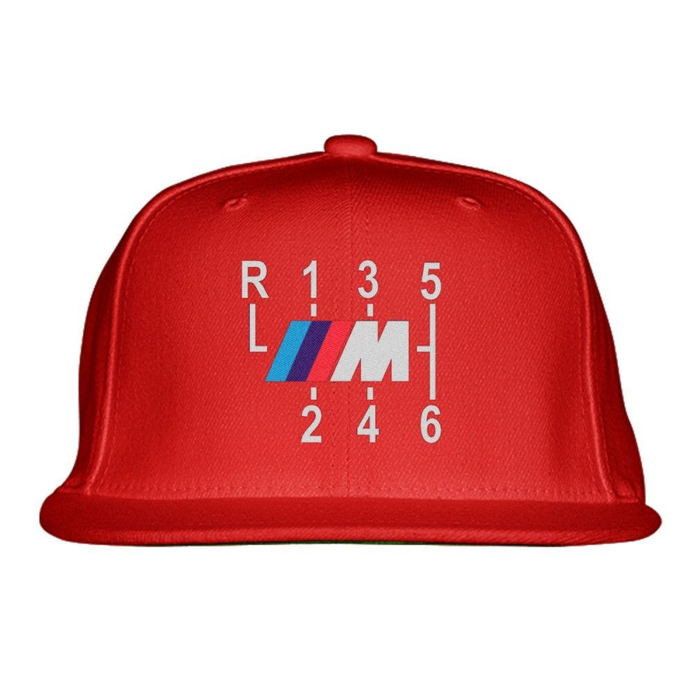 Bmw M Sport Embroidered Snapback Hat  673a04086f3