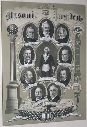 Former Presidents who are Master Masons. The last living President was Brother/Presidnet Gerald Ford.